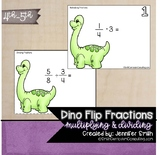 Dino Flip! A Multiplying and Dividing Fractions Review Game