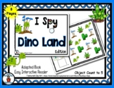 Dino Land - Adapted 'I Spy' Easy Interactive Reader - Fant