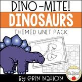 Dino-MITE! {math, english/language arts, & science dinosaur-themed activities}