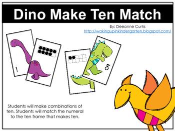 Dino Make 10 Match