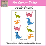 Dino Match Sheet