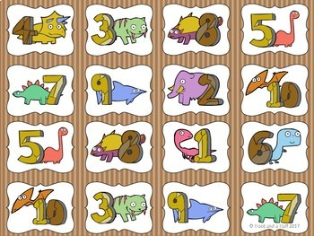 Dino Math - Addition & Subtraction Centre