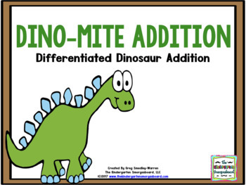 Dinosaurs!  Dinosaur Addition