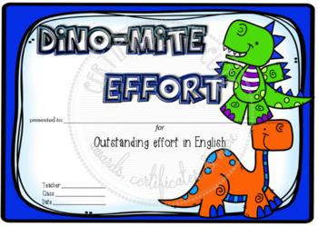 Dino-Mite Effort