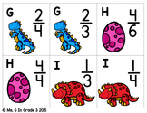 Dino-Mite Fractions (Comparing Fractions and number lines)