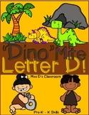 Dino-Mite Letter D!