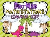 Dino-Mite Math Stations {Common Core}