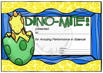 Dino-Mite! Science