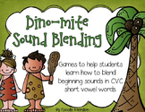 Sound Blending Cards and Activities