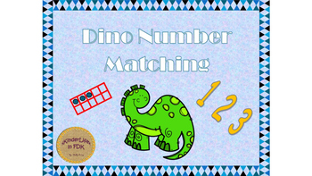 Dino Number Matching