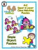 Dino Pencil - Dinosaur - Alphabet / Letter Puzzles - Simpl