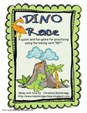 "Dino Race- Present Tense ""BE"" Linking Verb Game"