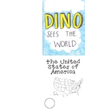 Dino Sees the World Sticker Book