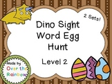 Dino Sight Word Egg Hunt Dolch Level 2 Second Grade