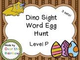 Dino Sight Word Egg Hunt Dolch Level Primer Kindergarten