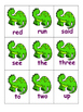 Dino Sight Words
