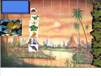 Dino Smartboard Game