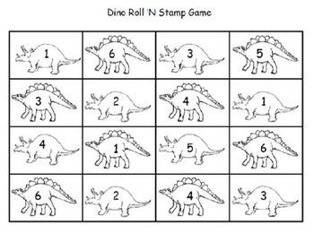 Dino Stamp