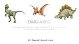Dino Themed Articulation Mats