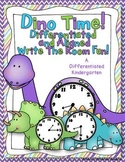 Dino Time Write The Room Fun-Differentiated and Aligned