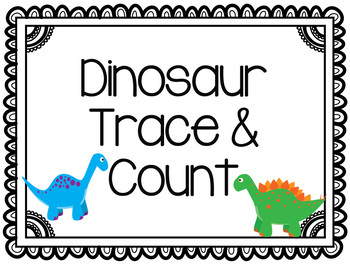 Dino Trace & Count Activity