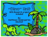 Dino Unit with Research Project