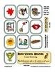 Dino Vowel Sounds - Sound Matching File Folder Game- Kinde