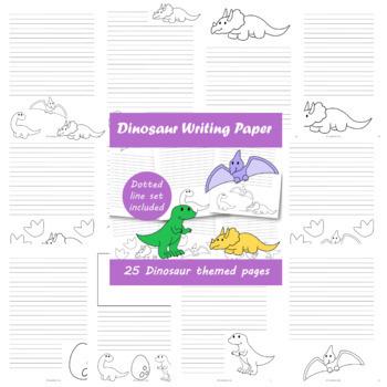 Dinosaur Writing Paper