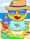 Dino at the Beach Summer Reward - VIPKID