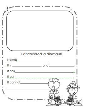 Dino- craftivity