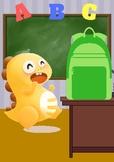 Dino goes back to school! VIPKID Reward