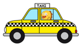 Dino in a Taxi
