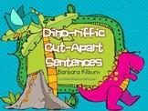 Dino-riffic Cut-Apart Sentences