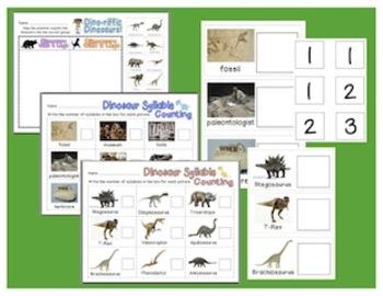 Dino-riffic Dinosaur Literacy Unit