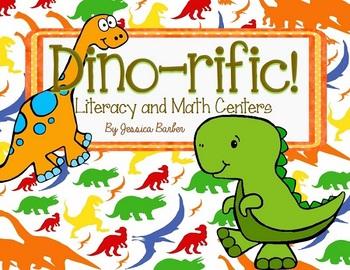 Dino-rific! Dinosaur Themed Literacy and Math Centers