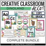Dinoland Classroom Decor Bundle | Dinosaur Theme