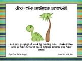 Dinomite Sentence Scramble