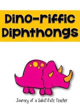 Dinoriffic Diphthongs: A Diphthong Pack