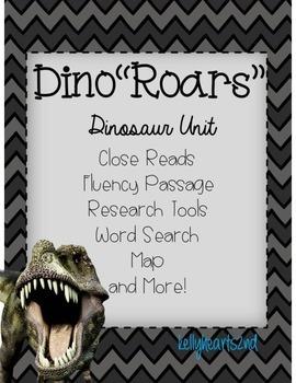 "Dino""roars"" Unit *Dinosaur Unit*"