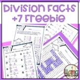 Divide by 7 FREEBIE