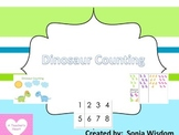 Dinosaur Counting File Folder/Memory Activity