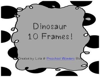 Dinosaur 10 Frames