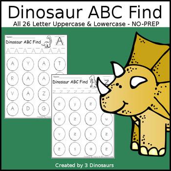 Dinosaur ABC Letter Find