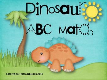 Dinosaur ABC Match