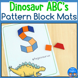 Dinosaur ABC Pattern Block Mats