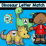 Dinosaur ABC Upper Case and Lower Case Match Up