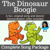 Dinosaur Song & Dance Activity Includes mp3s, Music, Lesso