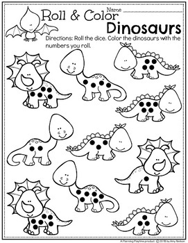 dinosaur activities for preschool by planning playtime tpt. Black Bedroom Furniture Sets. Home Design Ideas