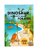 Dinosaur Activity Books for Kids