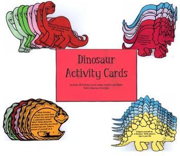 Dinosaur Activity Cards